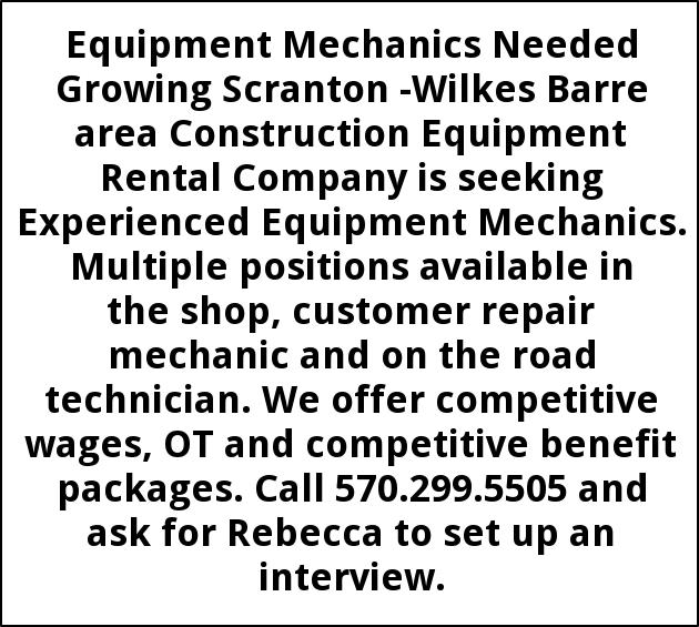 Equipment Mechanics