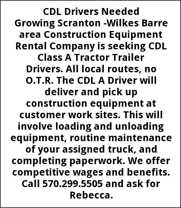 CDL Drivers