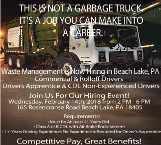 truck drivers jobs no experience