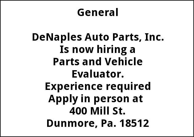 Automotive Dismantler, Warehouse,  Fluid Recovery Center