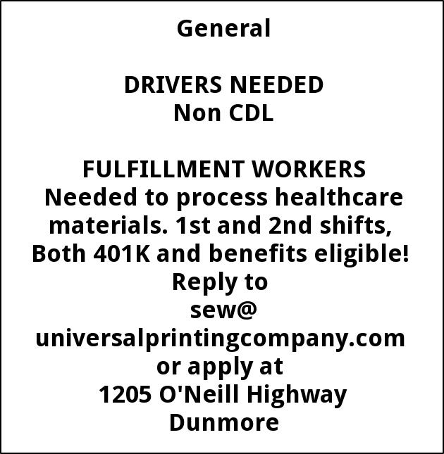 Fulfillment Workers and Driver