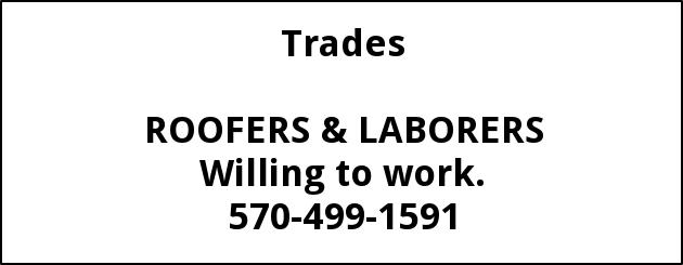 Roofers & Laborers