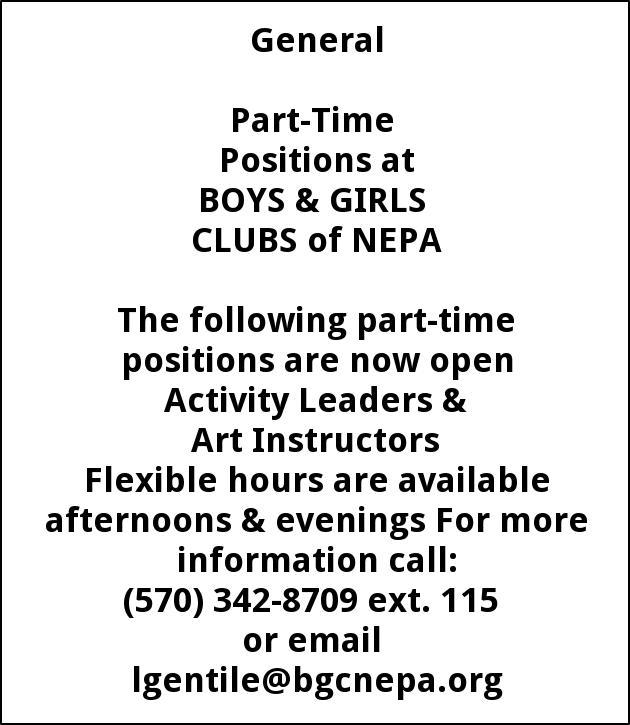 Activity Leaders & Art Instructors