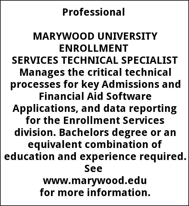Enrollment Services Technical Specialist