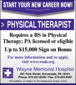 Physical Therapist, Respiratory Therapist