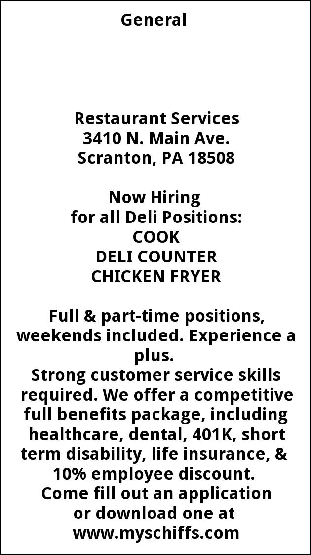 Cook, Deil Counter, Chicken Fryer