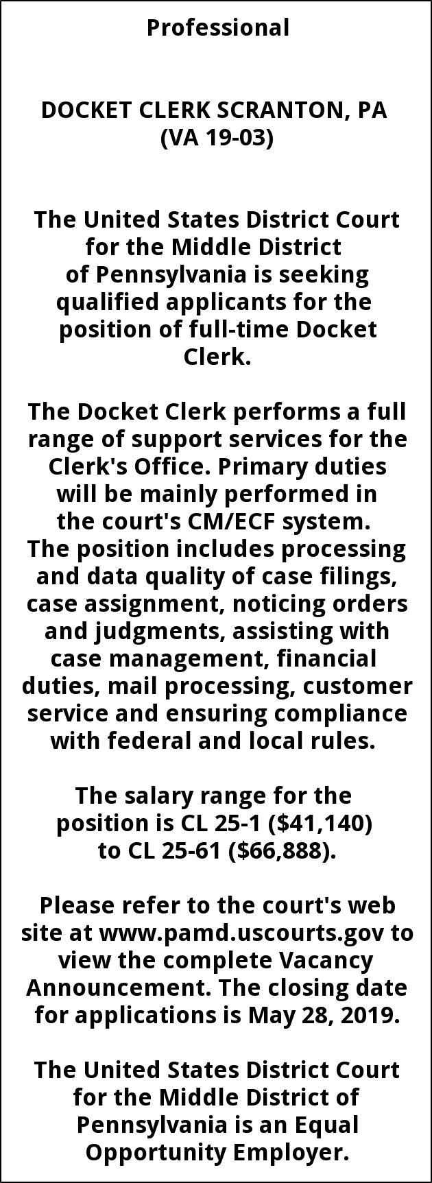 Federal district court wyoming docket