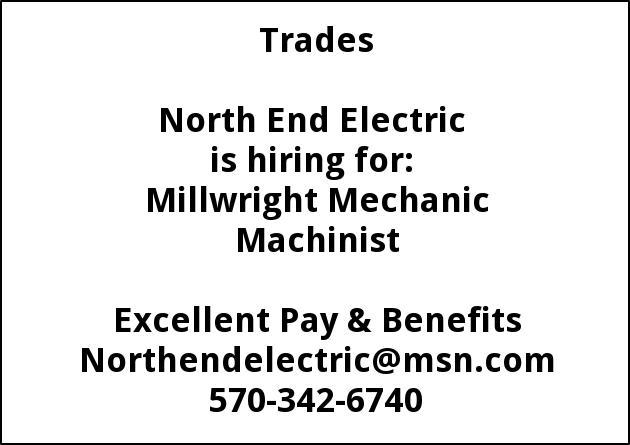 Millwright Machinist Mechanic