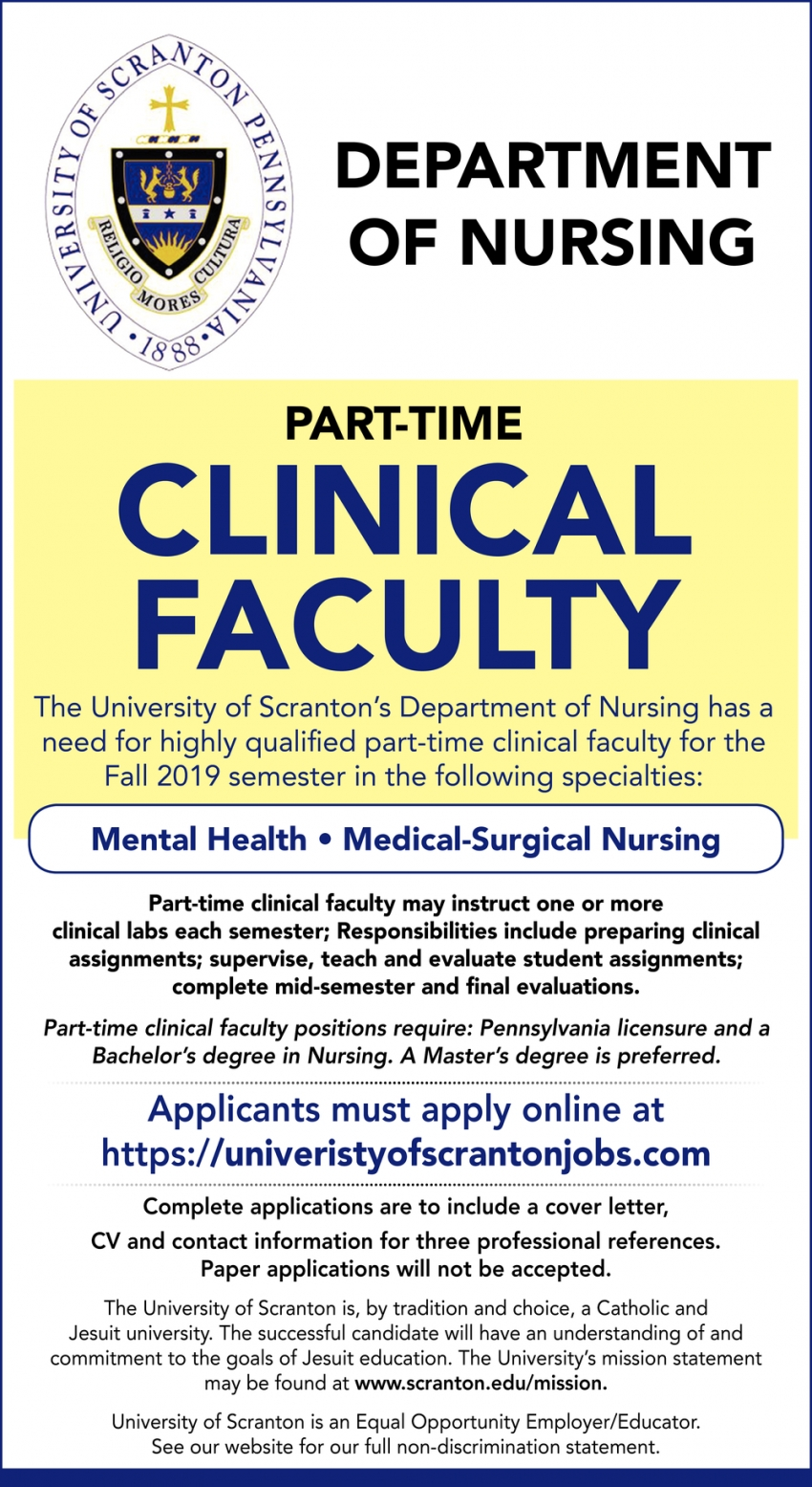 Mental Health, Medical Surgical Nursing
