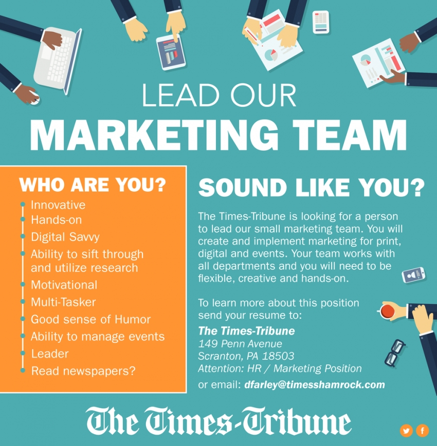 Marketing Lead Position