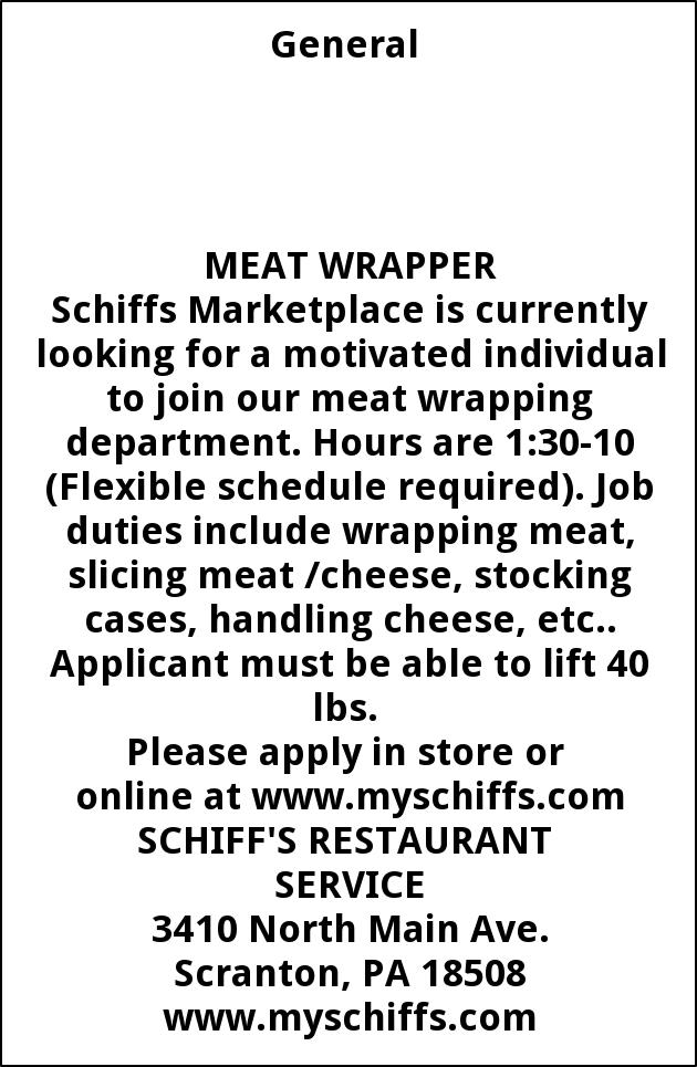 Meat Wrapper