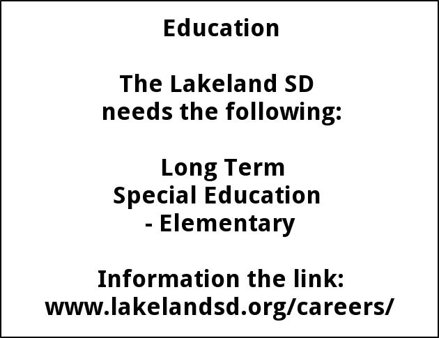 Long Term Special Education