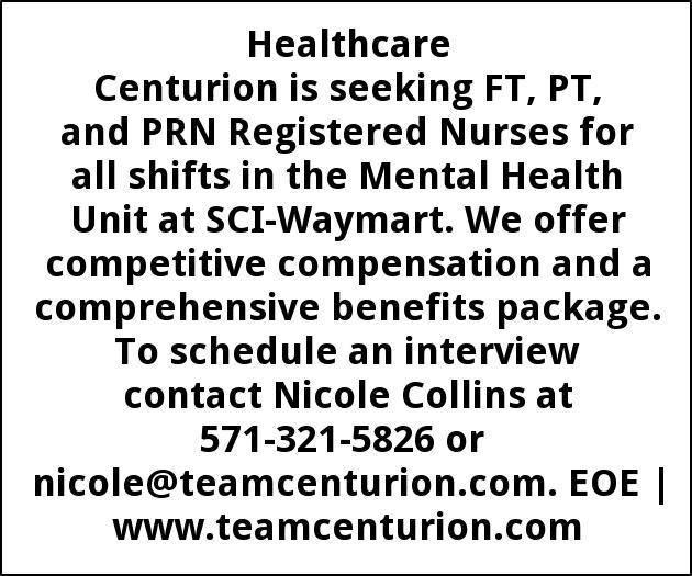 FT/PT PRN Registered Nurses