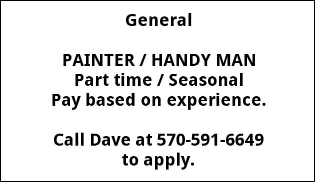Painter / Handyman