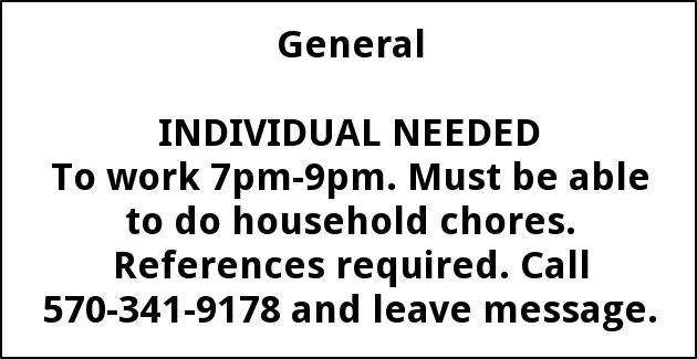 Individual Helper