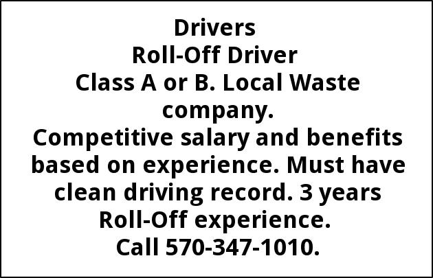 Roll-Off Driver