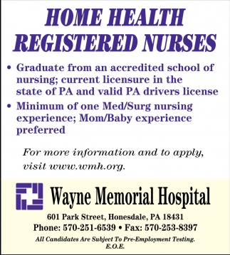 Home Health Registered Nurses