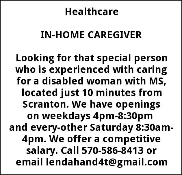 In-Home Caregiver